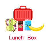 Lunch box vector. Stock Photography