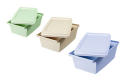 Lunch Boxes Royalty Free Stock Photos