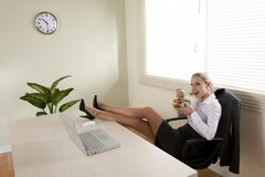 Lunch break Stock Image