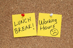 Lunch Break Stock Images