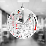 Lunch and business strategy Royalty Free Stock Photography