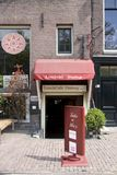Lunch Cafe Dialogue Prinsenchracht 261 next to the Anne Frank House, Amsterdam Royalty Free Stock Photo