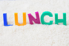 Lunch concept Royalty Free Stock Images