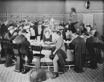 LUNCH COUNTER Royalty Free Stock Photos