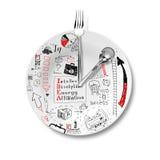 Lunch en bedrijfsstrategie Stock Afbeelding