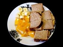 Lunch Gezond Alternatief 2 royalty-vrije stock foto