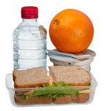 Healthy Lunch Box - Isolated stock photography