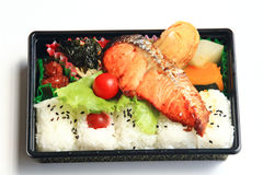Lunch of Japan. Japanese lunch box is colorful Stock Image