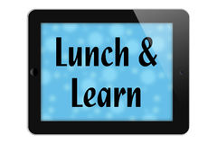 Lunch and Learn vector illustration