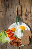 Lunch matställe, kvällsmål Fotografering för Bildbyråer