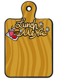 Lunch menu Royalty Free Stock Images