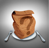 Lunch Question stock illustration