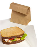 Lunch Sandwich Stock Image