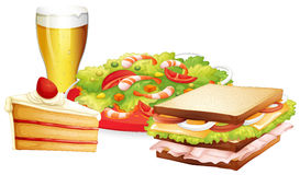 Lunch set Royalty Free Stock Photography