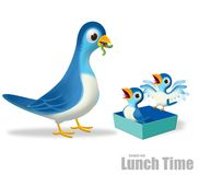 Lunch time Royalty Free Stock Image