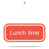 Lunch time Royalty Free Stock Photo