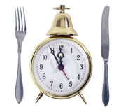 Lunch Time Symbol Royalty Free Stock Photos