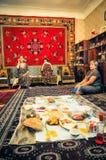 Lunch in Turkmenistan Royalty-vrije Stock Foto
