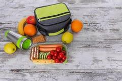 lunch Voedsel met me stock foto