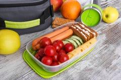 lunch Voedsel met me royalty-vrije stock fotografie