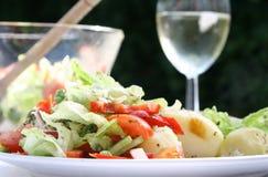 lunch w ogrodzie Zdjęcie Stock