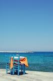 Lunch w Samos, Grecja - Zdjęcia Stock