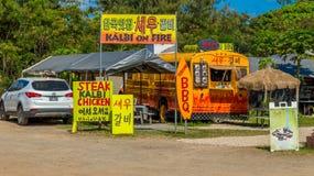 Lunch Wagon Stock Photo