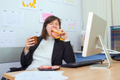 Lunch At Work Stock Images
