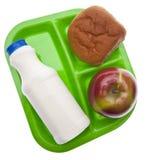 lunch zdrowa szkoła Obrazy Stock
