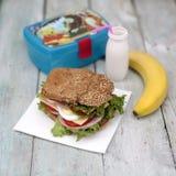 Lunchask Royaltyfria Bilder