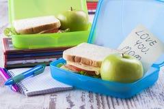 Lunchbox Royaltyfri Bild