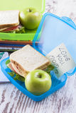 Lunchbox Royalty-vrije Stock Foto