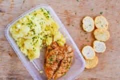 Lunchdoos royalty-vrije stock afbeelding