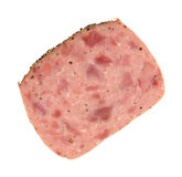 Luncheon loaf with pepper Royalty Free Stock Photos