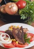 lunchporksteak Royaltyfri Foto