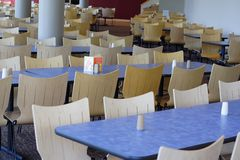 Lunchroom de corporation Photographie stock libre de droits