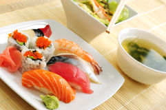 lunchsushi Arkivfoton