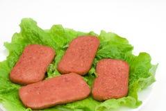 lunchu mięso Zdjęcia Royalty Free