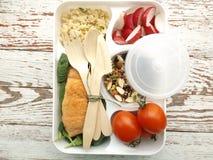 Lunchu pudełko Zdjęcie Royalty Free