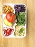 Lunchu pudełko Zdjęcie Stock