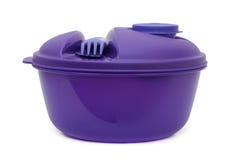 Lunchu pudełko, plastikowy puchar Obraz Royalty Free