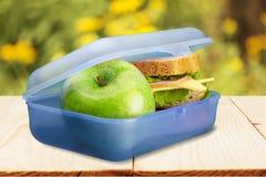 Lunchu pudełko Fotografia Royalty Free