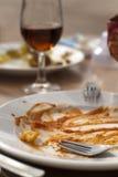 lunchwine royaltyfri bild
