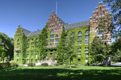 Free Lund University Library Covered By Ivy, Sweden Royalty Free Stock Photos - 162438118