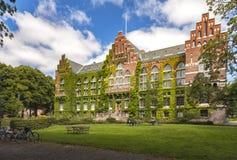 Lund University library Stock Photo