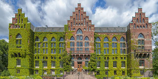 Lund University Library. The ivy covered university library in the Swedish city of Lund Stock Images