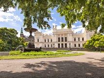 Lund uniwersyteta parka teren Zdjęcia Stock