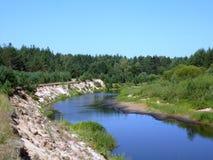 Lunda river in Mari El Republic Royalty Free Stock Photography