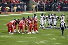 Lundi le football américain de soir images libres de droits