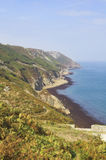 lundy的海岛 免版税图库摄影